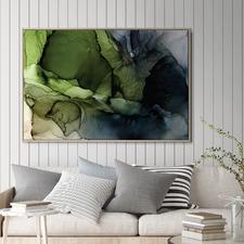 Crisp Abstract Printed Wall Art