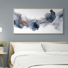 Fire & Ice Abstract Printed Wall Art