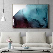 Wavelength Abstract Printed Wall Art