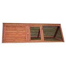 Wooden Rabbit Hutch with A Frame and Base