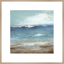 Seaside Abstract Framed Print