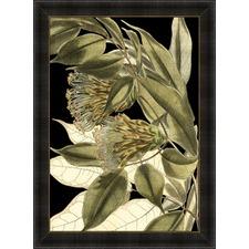 Tranquil Tropical Leaves VI Framed Print