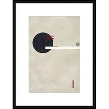 Circle Love Framed Print