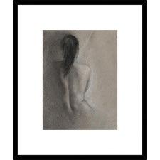 Chiaroscuro Figure Drawing II Framed Print