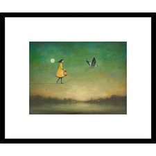 Blue Moon Expedition Framed Print