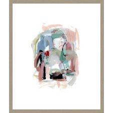 Summer Coral I Framed Print