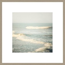 The Sound of Waves Framed Print