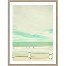 Vintage Style Summer Framed Print