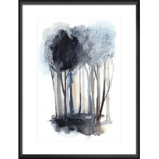 Tranquil Coppice II Framed Print