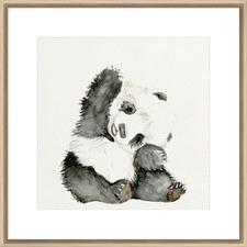 Baby Panda I Framed Print