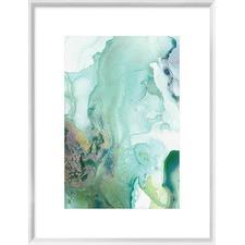 Mint Bubbles III Framed Print