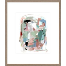Summer Coral III Framed Print