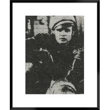 Retro Idol II Marlon Brando Framed Printed Wall Ar