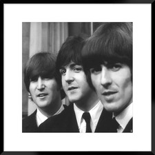 The Beatles Framed Printed Wall Art