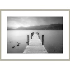 Etheral Walkway Framed Printed Wall Art