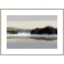 Distant Islands Framed Printed Wall Art