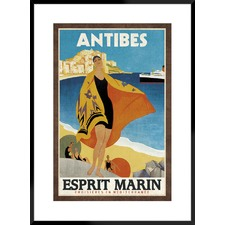 Cruise Antibes Framed Printed Wall Art