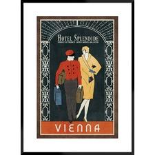 Grand Hotel Vienna Framed Printed Wall Art