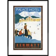 Grand Hotel Zermatt Framed Printed Wall Art