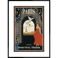 Grand Hotel Paris Framed Printed Wall Art