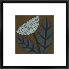 Cacao III Framed Print