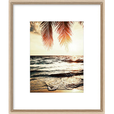 Night Beach Framed Printed Wall Art