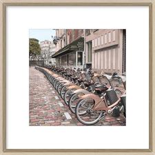 Paris City Ride II Framed Print