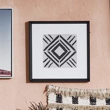 Tribal Patterns V Framed Print