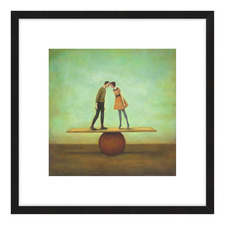 Finding Equilibrium Framed Printed Wall Art