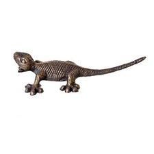 Head Up Gecko Figurine