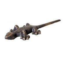 Head Flat Gecko Figurine