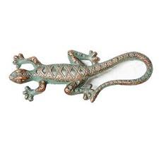 Gecko Figurine in Green