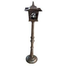 Garden Lantern in Antique Rust