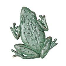 Distressed Frog Figurine