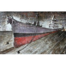 Ship Metal Wall Art
