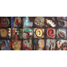 Swirls Abstract Metal Wall Art