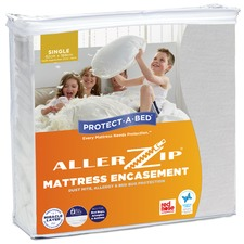 Allerzip Smooth Fully Encased Mattress Protector