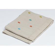 Multi Spot Pram Blanket