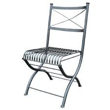 Rye Folding Steel Chair (Set of 2)