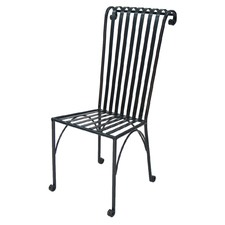 Black Tubular Steel Cavalier Chair (Set of 2)