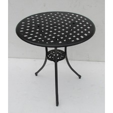 Miami 70cm  Cast Aluminium Table Bronze