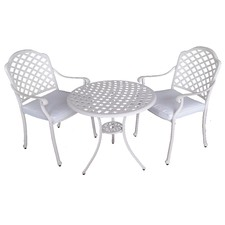 Andrea 3 Piece Dining Set