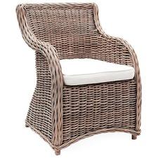Milano Kubu Wicker Armchair
