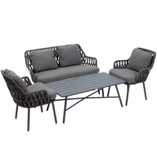4 Seater Colonia Outdoor Lounge & Table Set