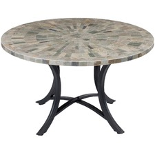 Round Oyster Outdoor Dining Table