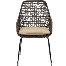 Brown Zena Outdoor Chair