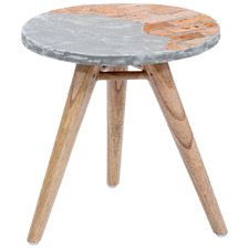 Brickon Round Side Table