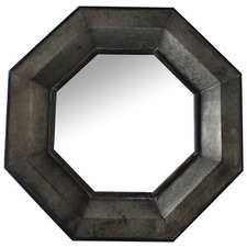 Viking Octagonal Metal Mirror