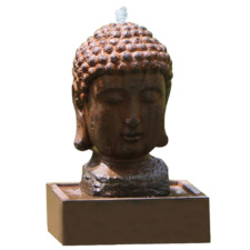 Lucky Buddha Water Fountain with LED