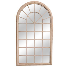 Extra Large Garden Arched Window Mirror